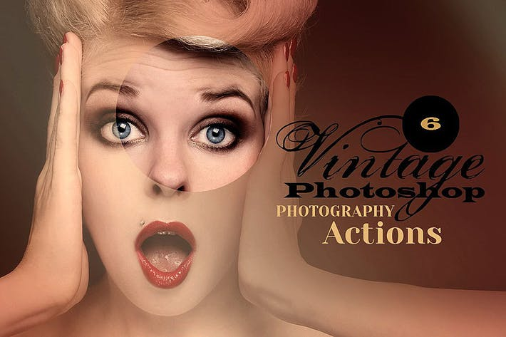 Thumbnail for 6 Vintage Photo Actions