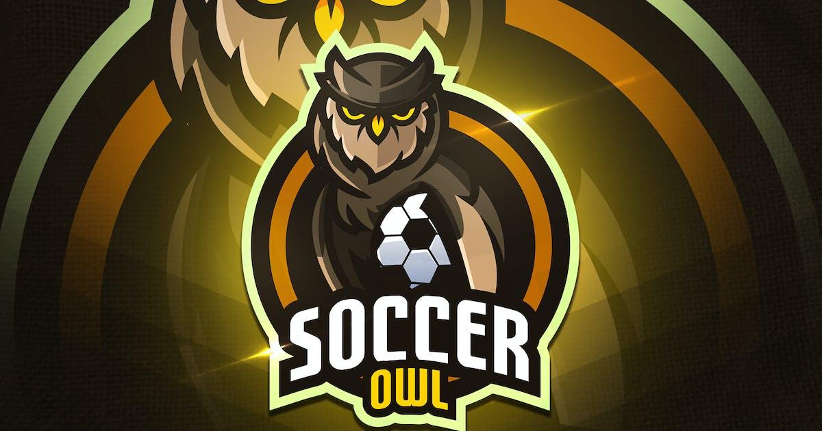 Download Soccer Owl - Mascot & Esport Logo by aqrstudio
