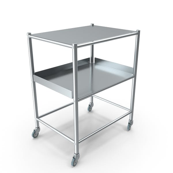 Thumbnail for Stainless Medical Trolley