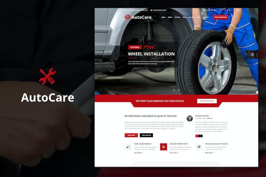 Auto Care - Car Mechanic Drupal Theme