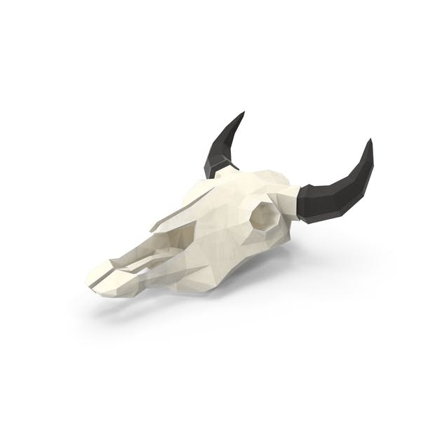 Thumbnail for Low Poly Cow Skull