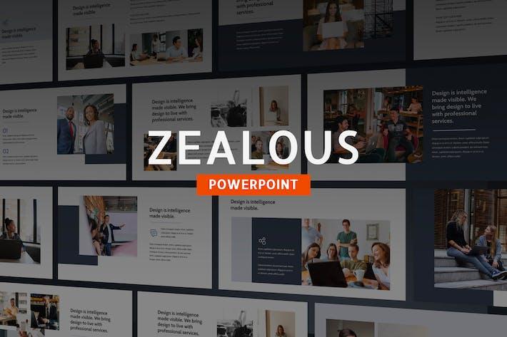 Thumbnail for Ретивый - современный Шаблон Powerpoint