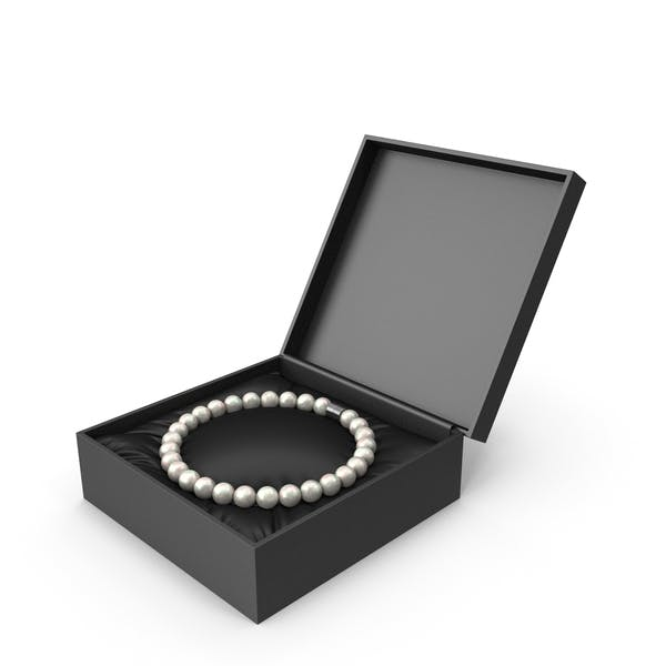 Thumbnail for Pearls Bracelet in a Black Gift Box