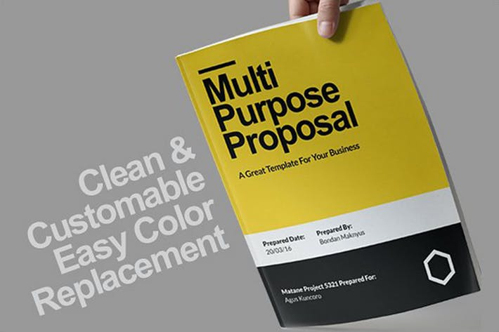 Download 1283 Branding Proposal Templates Page 3