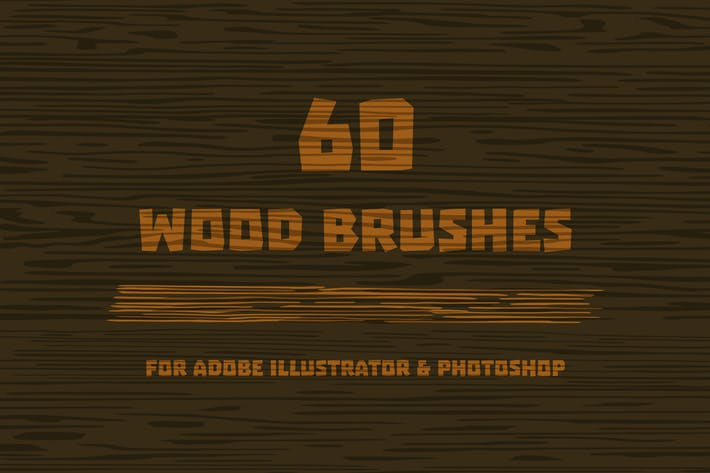 Thumbnail for Wood Brushes for Adobe Illustrator