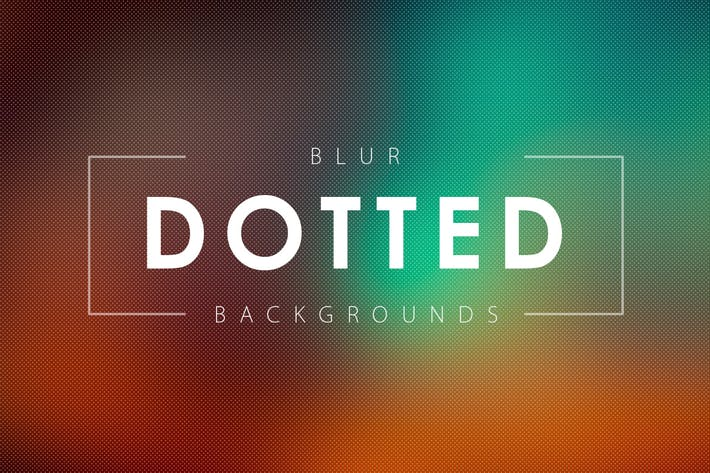 Thumbnail for 50 Dotted Blur Backgrounds