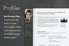 Profiler - Personal Blog Joomla Template