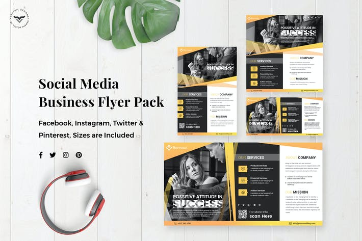 Thumbnail for Business Flyer Social Media Template
