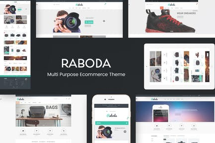 Raboda - eCommerce Responsivo WordPress Tema