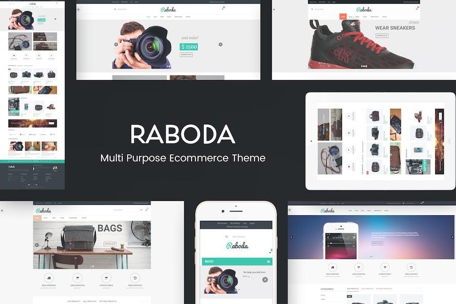 Raboda - eCommerce Responsive WordPress Theme