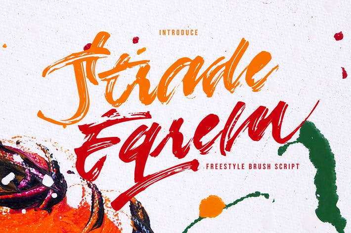 Thumbnail for Strade Eqrem | Freehand Brush Script