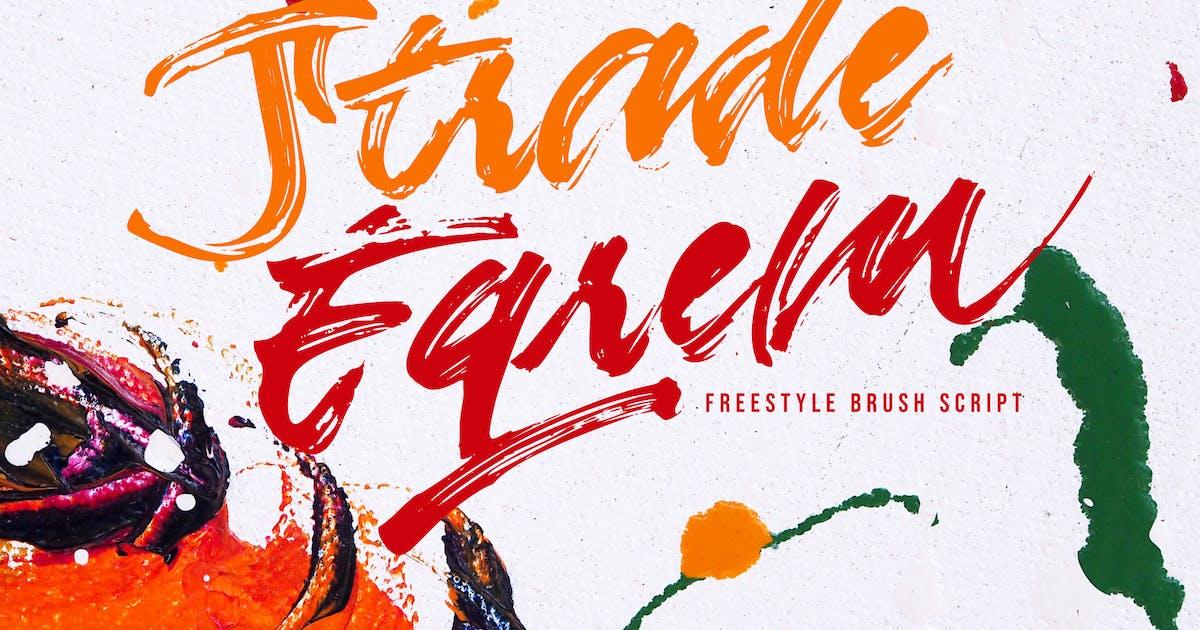 Download Strade Eqrem | Freehand Brush Script by Vunira