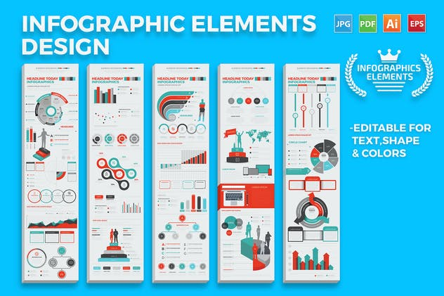 Infographics Elements - product preview 5