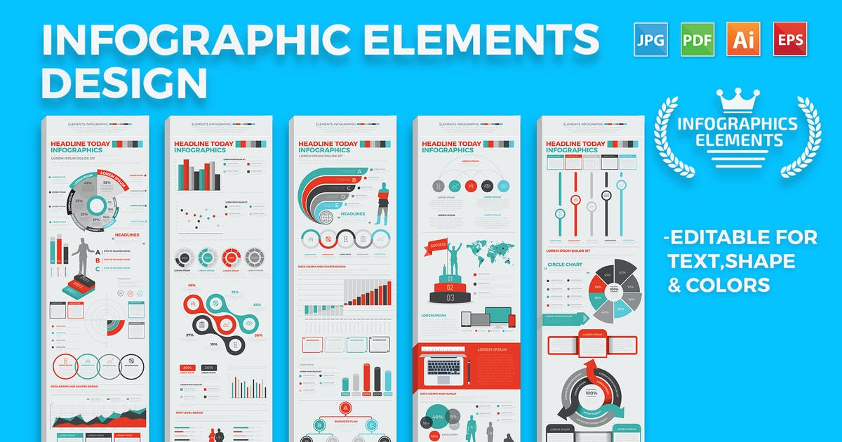 Infographics Elements by mamanamsai