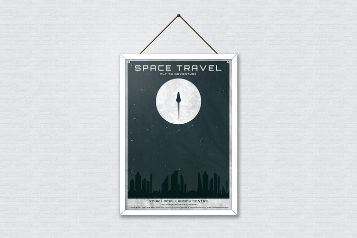 Thumbnail for Space Travel Poster