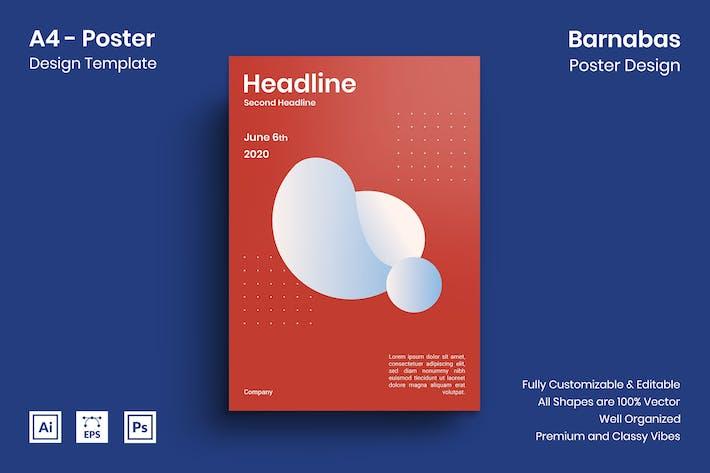 Thumbnail for Barnabas Poster Design