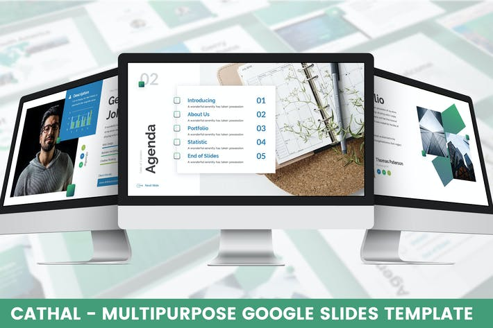 Cover Image For Cathal - Multipurpose Google Slides Template