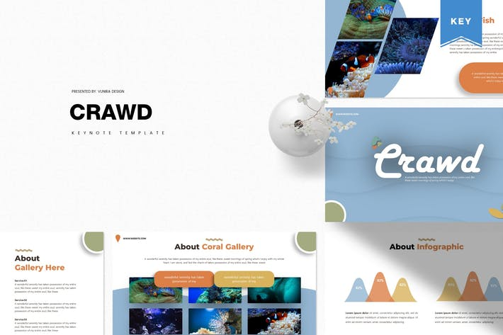 Crawd | Keynote Template