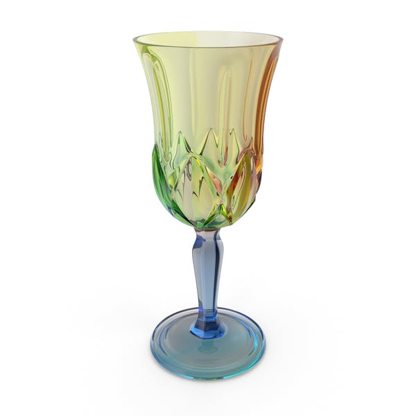 Multicolor Engraved Glass