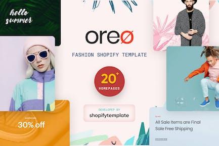 Oreo Minimal Clean Shopify Tema