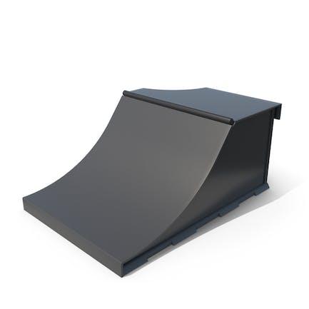 Skateboard Rampen Schwarz