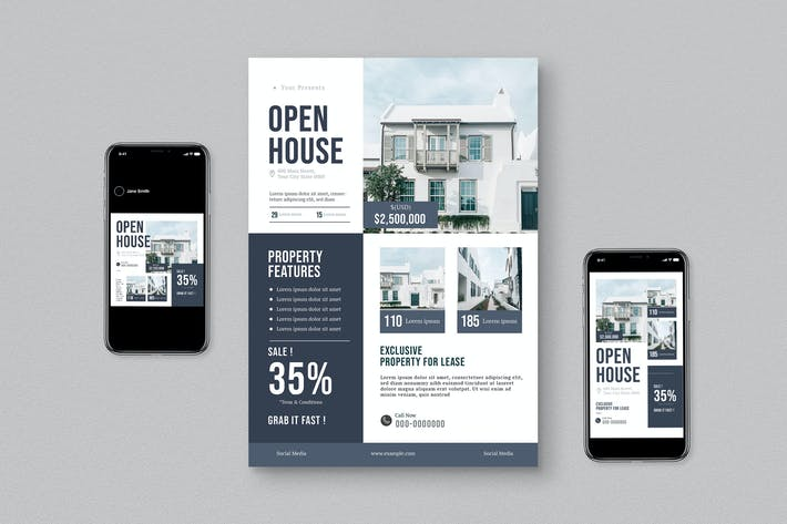 Thumbnail for Real Estate Flyer Pack