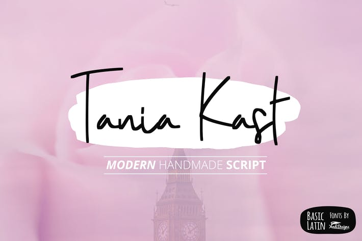 Cover Image For Tania Kast Modern Script