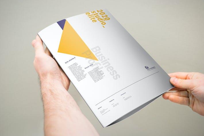 Thumbnail for Dreifache Broschüre