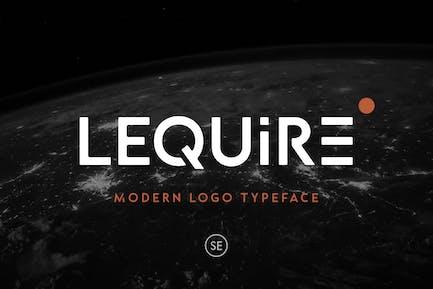 Lequire - Modern Logo Tipo de letra