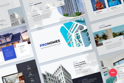 Property & Real Estate Powerpoint Template