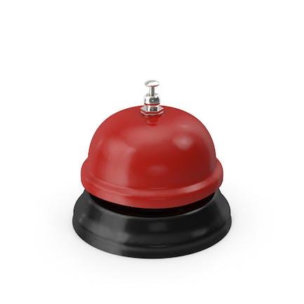 Red Service Glocke