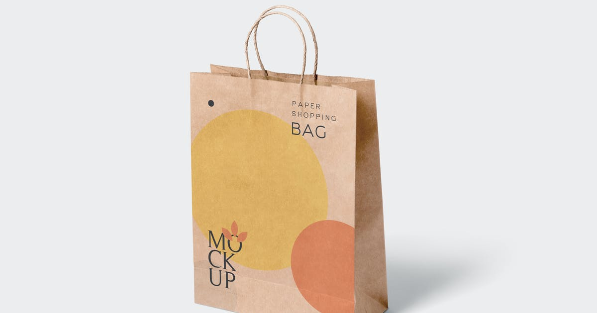 Download 5 Paper Shopping Bag Mockups by GfxFoundry