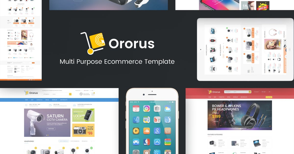 Download Ororus - Responsive OpenCart Theme by Plaza-Themes