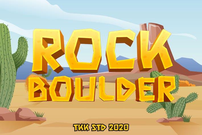 Thumbnail for Rock Boulder - Fuente para juegos