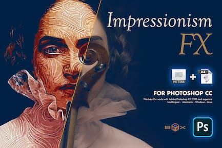 Impressionism Paint FX Photoshop Plugin