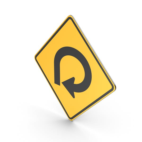 270 Degree Loop Road Sign