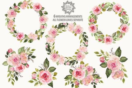 English roses arrangements
