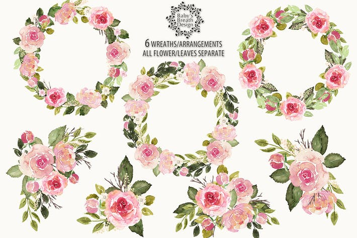 Thumbnail for English roses arrangements