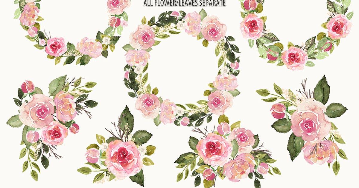 Download English roses arrangements by designloverstudio