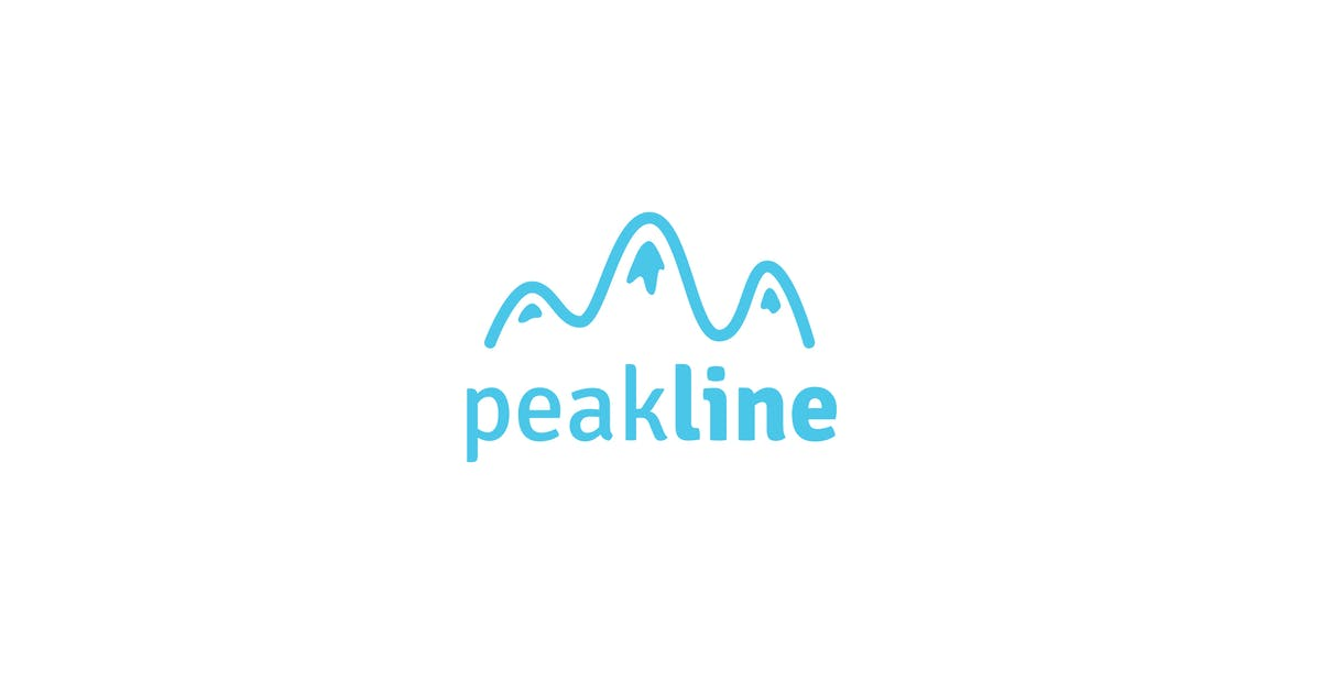 Download Peak line logo template by Be_Themes