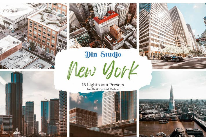 New York Lightroom Presets