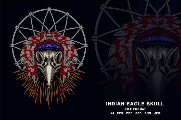 Thumbnail for Skull Eagle Indian