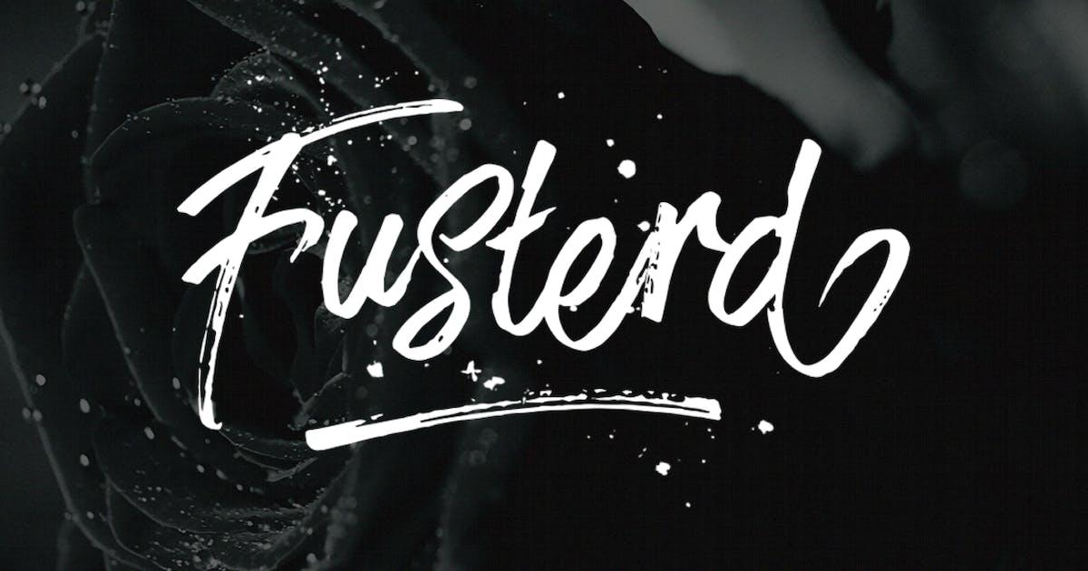 Download Fusterd Font by Byulyayika