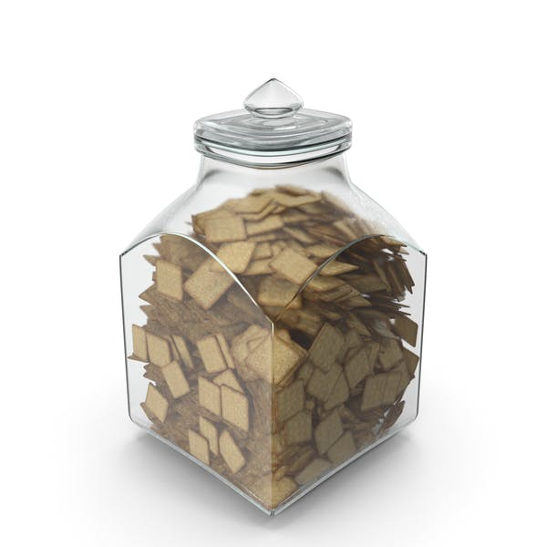 Thumbnail for Square Jar with Square Crackers