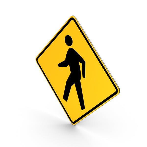 Thumbnail for Pedestrian Crossing Sign