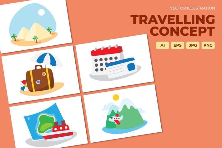 Thumbnail for Travelling concept, Cruise journey