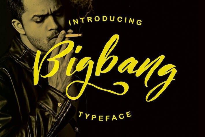 Thumbnail for Bigbang Typeface
