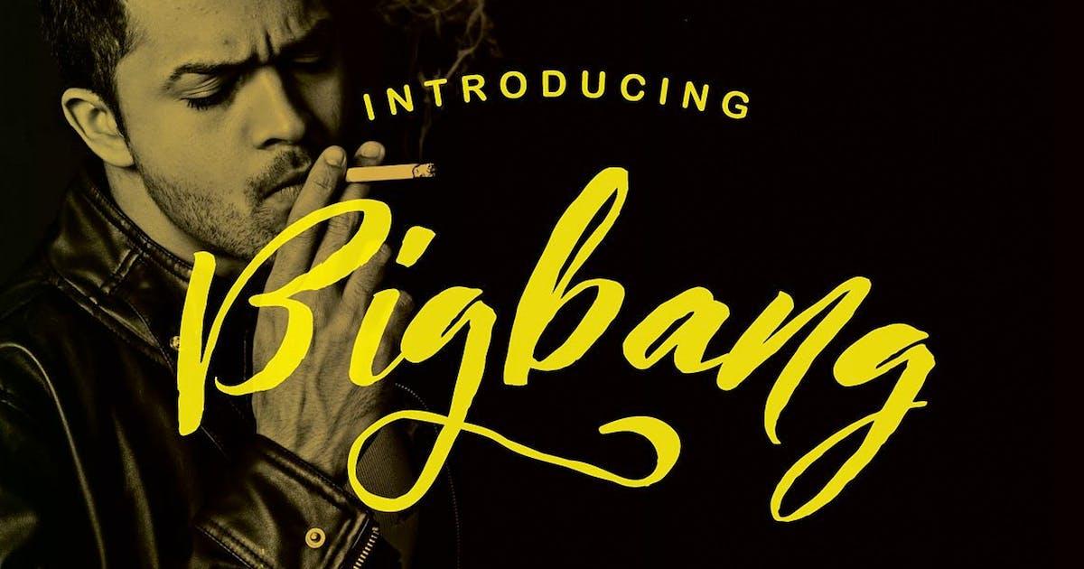 Download Bigbang Typeface by queentype