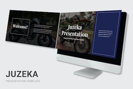 Juzeka - Motorcycle Dealer Powerpoint