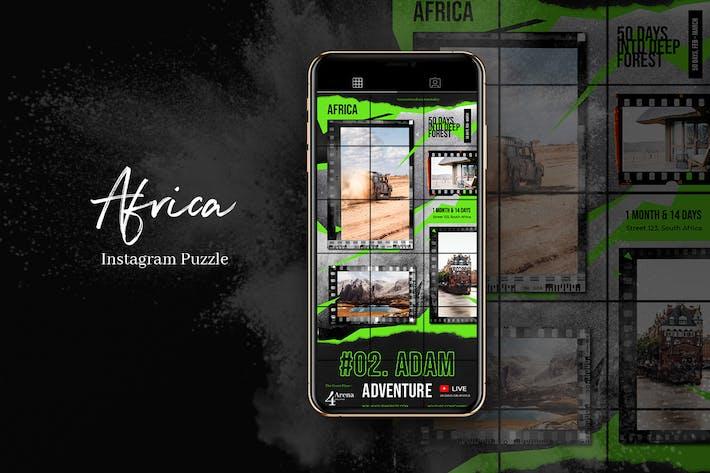 Africa Instagram Puzzle